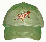 Horned Lizard Embroidered Cap