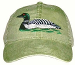 Loon Embroidered Cap