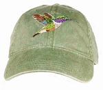 Lucifer's Hummingbird Embroidered Cap