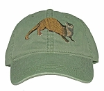 River Otter Embroidered Cap