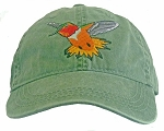 Rufous Hummingbird  Embroidered Cap