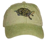 Spotted Turtle Embroidered Cap