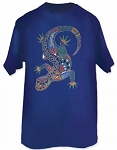 Lizard Earth Art T-shirt