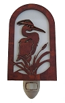 Great Blue Heron Nightlight - Handmade