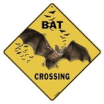 Bat Crossing Sign