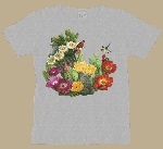 Cactus Flowers and Hummingbird Woman's T-shirt