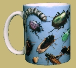 Bug Wrap 11 OZ. Ceramic Coffee Mug