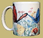 Butterfly Garden 11 OZ. Ceramic Coffee Mug