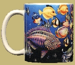 Fish Fiesta 11 OZ. Ceramic Coffee Mug