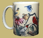 Garden Birds of North America 11 OZ. Ceramic Coffee Mug