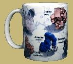 Minerals of the World 11 OZ. Ceramic Coffee Mug