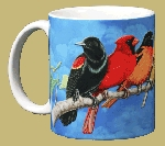 Songbird Spectrum 11 OZ. Ceramic Coffee Mug