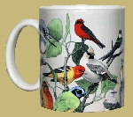 Back Country Birds 11 OZ. Ceramic Coffee Mug