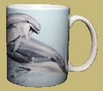 Leaping Dolphins 11 OZ. Ceramic Coffee Mug
