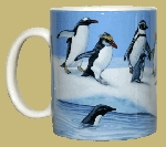 Penguins of the World 11 OZ. Ceramic Coffee Mug