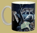 Nighttime Wildlife 11 OZ. Ceramic Coffee Mug
