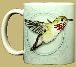 Calliope Hummingbird 11 OZ. Ceramic Coffee Mug