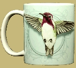 Costa's Hummingbird 11 OZ. Ceramic Coffee Mug