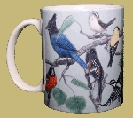 Birds of Western North America 11 OZ. Ceramic Coffee Mug
