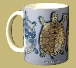 Turtle Circle 11 OZ. Ceramic Coffee Mug