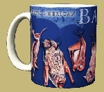 Night Flyers (Bats) 11 OZ. Ceramic Coffee Mug
