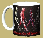 All Systems Go ~ Human Anatomy ~ 11 OZ. Ceramic Coffee Mug