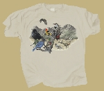 Birds of Western North America T-shirt