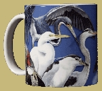 Wading Birds 11 OZ. Ceramic Coffee Mug