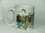 Western Birds 11 Ounce Ceramic Coffee Mug