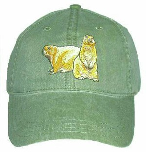 Prairie Dog Embroidered Cap