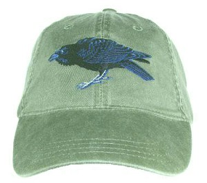 Raven Embroidered Cap