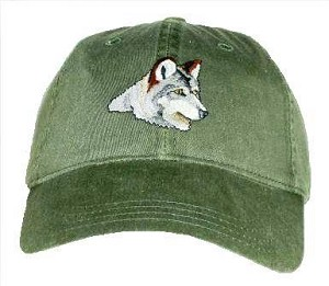 Wolf Embroidered Cap