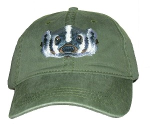 Badger Embroidered Cap