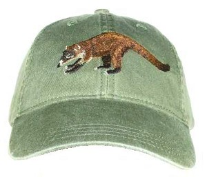Coati Mundi Embroidered Cap