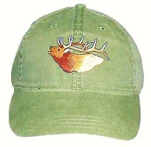 Elk Embroidered Cap