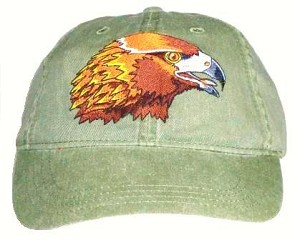 Golden Eagle Embroidered Cap