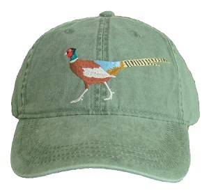 Pheasant Embroidered Cap
