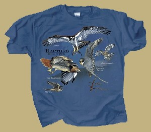 Raptors, Birds of Prey T-shirt