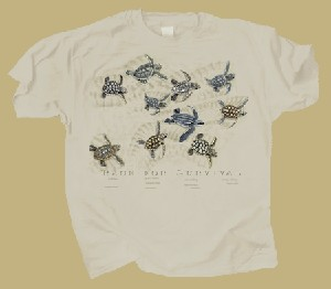 Sea Turtles: Race for Survival Two-sided T-shirt