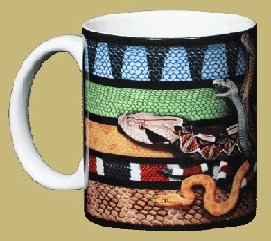 Venomous Snakes 11 OZ. Ceramic Coffee Mug