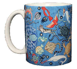 Circle of Life 11 OZ. Ceramic Coffee Mug