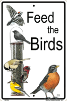 Feed the Birds Sign